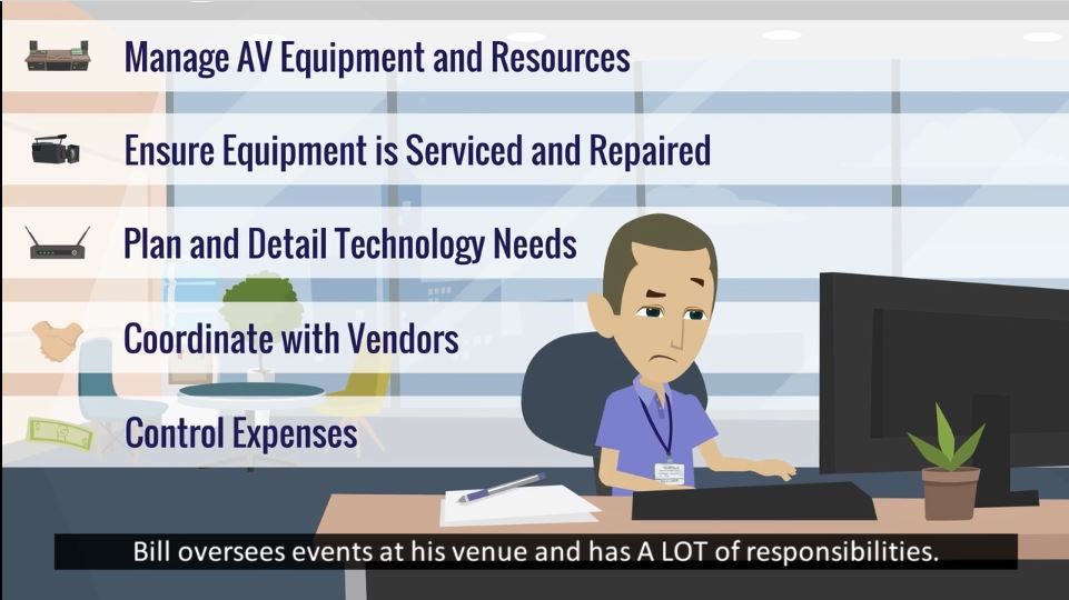Without a How-To Book for AV Services, Who is Training Hotel Staff on Sales, Set Up and Preventive Maintenance?