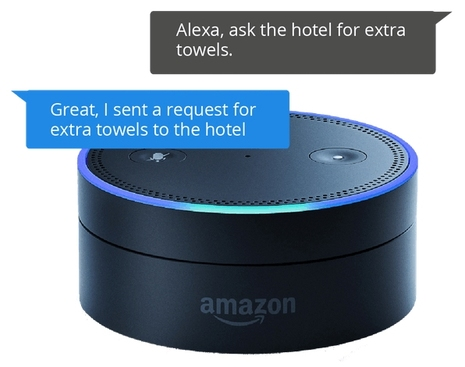 Runtriz Improves Hotel Guest Experience with Amazon Echo Dot and Alexa