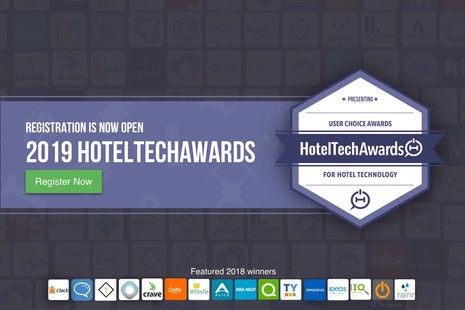 Registration is Now Open for the 2019 HotelTechAwards