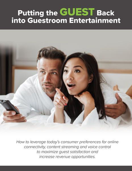 Hotel Internet Services Unveils New Research Report on Trends in Guestroom Entertainment and Voice Control Technology