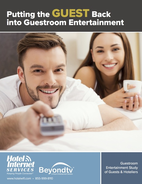 Hotel Internet Services Survey of Hoteliers and Guests Reveals Crucial Insight on Voice Technology and In-room Entertainment Trends