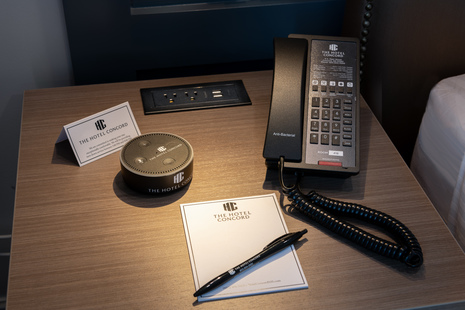 The Hotel Concord is the First in New England to Offer Volara-Powered Alexa Technology in Rooms