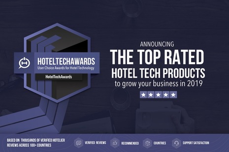 Winners of the 2019 HotelTechAwards Announced