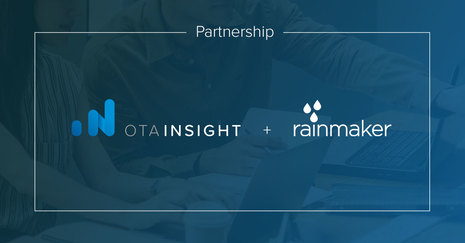 Rainmaker Selects OTA Insight as Strategic Partner for Rate Intelligence