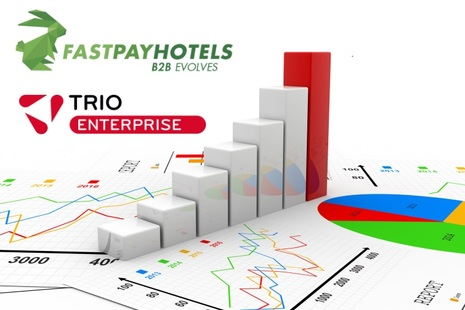 Fastpayhotels collaborates with Triometric to leverage the power of BI in its innovative hotel distribution business