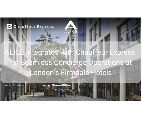 Transportation Booking Just Got Easier for Concierges at Firmdale Hotels