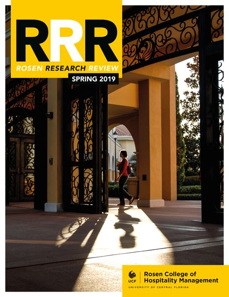 Rosen Research Review magazine launched by UCF Rosen College