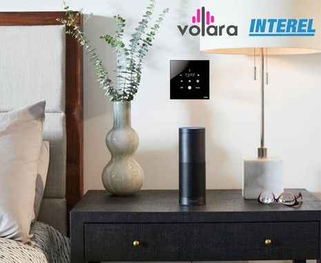Volara and INTEREL Enabling Hotel Guests to Control the Room Environment on Voice Command