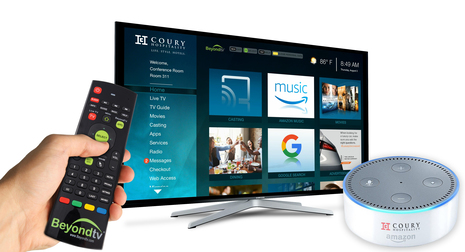 Coury Hospitality Selects HIS to Implement Advanced Content Casting, Voice Control and Internet Connectivity at Properties Across the United States