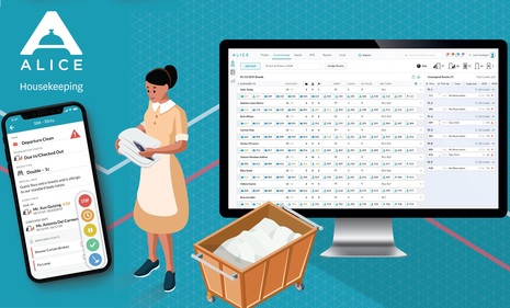 ALICE Unveils New Solution to Enhance Housekeeping Productivity and Save Costs