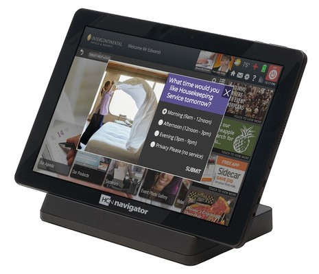 HCN to Unveil 'Guest Choice' Green Initiative at HITEC Minneapolis Driven by the 'Navigator Tablet'