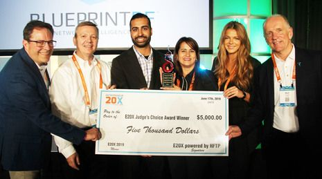 "TraknProtect Captures Coveted ""Judges' Choice"" Award at E20X (Entrepreneur 20X) Competition at HITEC 2019"