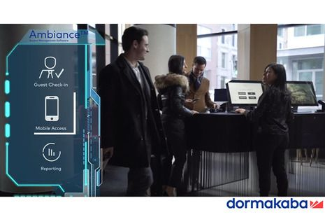 Video Report: dormakaba's Ambiance Access Management Software Delivers an Exceptional Hotel Experience