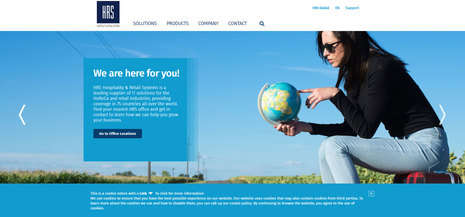 HRS launches newly optimized website to further substantiate its global expansion