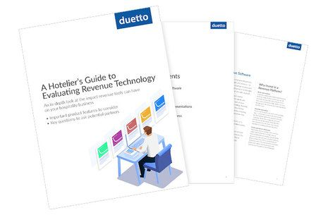 [New Report] The Hotelier's Guide to Evaluating Revenue Technology
