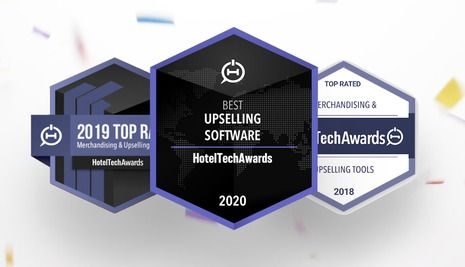 Oaky wins Best Upsell Software at the HotelTechAwards Once Again