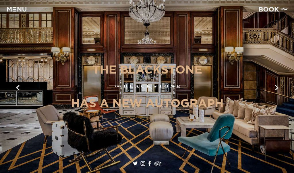 A New Look for a Historic Chicago Hotel's Website