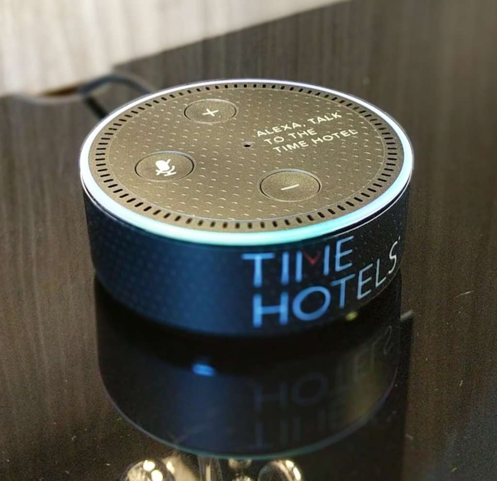 THE TIME NYACK HOTEL ENABLES GUEST SERVICE WITH AMAZON ALEXA