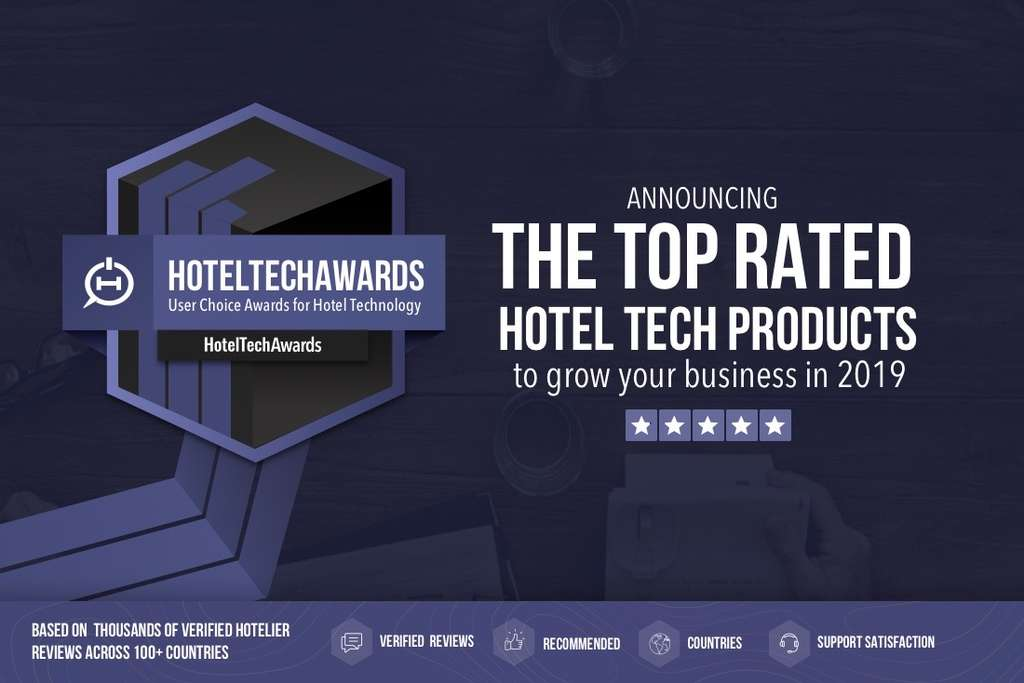 2019 HotelTechAwards Honors the Best Hotel Technology Companies